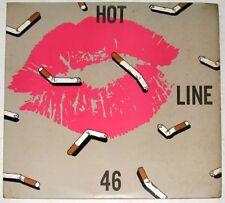 HOT LINE 46 Double Vinyl LP Record New Wave Japan