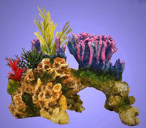 Aquarium Deko ❤️ TRAUM KORALLE ❤️ Korallenriff Pflanzen Zubehör Dekoration