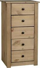 Corona 81cm-100cm High Chests of Drawers