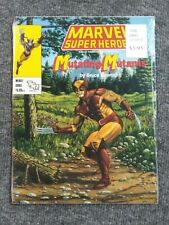 Marvel Super Heroes Mutating Mutants NEW SEALED in original shrink SC RPG TSR