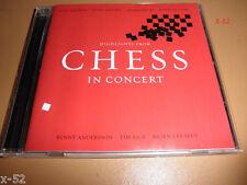 CHESS in CONCERT cd JOSH GROBAN kerry ellis IDINA MENZEL adam pascal PELLOW