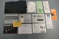 1987 BMW M6 635csi  L6 ORIGINAL owners manuals COMPLETE SET !!!