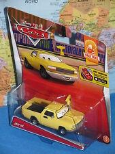 DISNEY PIXAR CARS JAY W. #4/9 YELLOW RACE FANS **BRAND NEW & VHTF**