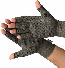 Fingerless Gloves For Arthritis Support Grip Hand Compression Pain Relief Joint