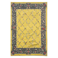 Tribal Afghan Anatolian Turkish Kilim Rug Yellow Rug 8x10 ft Oriental Area Rug