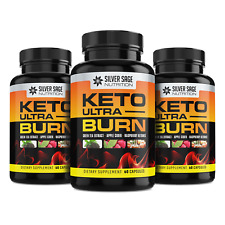 Keto Diet Weight Loss Pills Keto Burn 3 PAK Exogenous Ketones