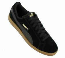 NWT - PUMA Men's 'SMASH SD SUEDE-LEDER' Black SNEAKERS - US 8.5 / EU 41