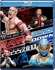 WWE -  Raw / Smackdown - Best Of 2011 (Blu-ray, 2012, 3-Disc Set) Region B