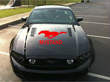 Mustang Graphic Kit Hood or Window Horse Pony Decal Car Mustang Sticker 37x18