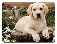 Yellow Labrador Puppy Computer Mouse Mat Christmas Gift Idea, AD-L71M
