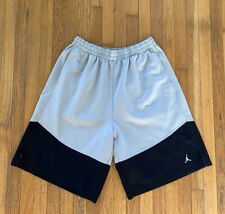 Nike Air Jordan Jumpman Logo Black Gray  Basketball Shorts Men's 3XL XXXL