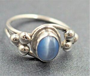 MOONSTONE & Silver Fine Vintage Gemstone Ring