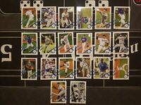 2021 Topps Series 1 Los Angeles Dodgers Base Team Set