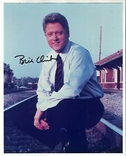 BILL CLINTON AUTOGRAPH 8 X 10 PHOTO