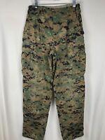 Military Uniform Woodland Digital CAMO US NAVY Pants Small Regular BDU