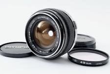 [Exc+5] Olympus OM-System G.Zuiko Auto-W 21mm F3.5 MF Lens from JAPAN