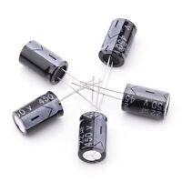 5x 450V 22UF 105°C Elko Kondensator Radial Aluminum Electrolytic Capacitor NEU