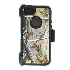 For iPhone 5,5s,SE Defender Case cover w/clip fit otterbox & Screen Black S Tree