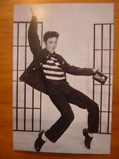 POSTCARD...VERY LAST AVANT CARD EVER!!!...FEATURING ELVIS...JAILHOUSE ROCK