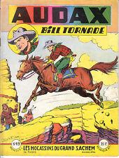 AUDAX BILL TORNADE N° 49 DE 1956 EDITIONS ARTIMA