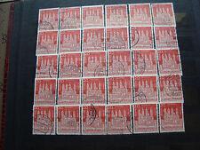 GERMANIA (rfg) - francobollo yvert e tellier n° 238 x30 obliterati stamp (A)