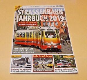 Strassenbahn Magazin Special Nr.34 STRASSENBAHN JAHRBUCH 2019 ungelesen