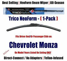Super Premium NeoForm Wiper Blade (Qty 1) fits 1975-1980 Chevrolet Monza 16160