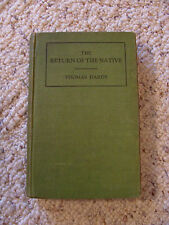 1895? Book Harper & Brothers The Return of the Native Thomas Hardy