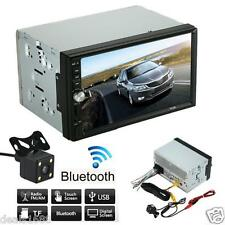 Bluetooth HD Car Stereo In-Dash Audio Video MP5/MP3 FM USB AUX   Parking Camera