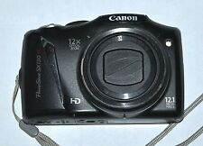CANON POWERSHOT SX130IS 12.1 MPIXEL 12X ZOOM GOOD CONDITION