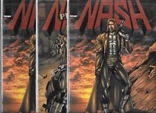 Nash #1 (2) & Nash #1 Preview Book Dynamic Forces Alternate Covers With Coa'S