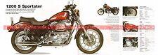 HARLEY DAVIDSON XL 1200 S Sportster Sport 1996 Fiche Moto 000511