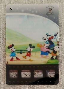 Woolworth's Disney Movie Stars Card 6 - Mickey Mouse, Minnie, Goofy