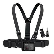 PULUZ Adjustable Elastic Chest Strap Harness Mount for GoPro New Hero6/5 Session