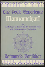 Raimundo Panikkar / Vedic Experience Mantrama-Njari--An Anthology of the 1st ed