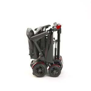 Drive Auto Folding 4 Wheel Mobility Scooter with Remote Control 4mph - Red