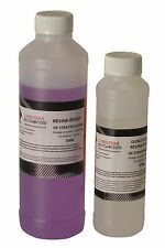 Kit 700g de résine EPOXY  haute transparence, anti UV. Stratification & glaçage.