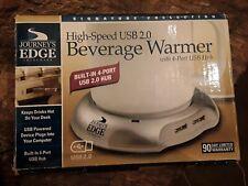 High Speed USB 2.0  Coffee, Tea, Milk, Drink Warmer w/4 port USB Hub+ FREE GIFT