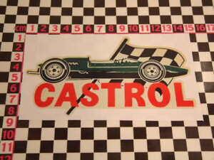 1960's F1 Race Car Sticker for British Classic Car - Austin Morris MG Triumph