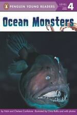 Penguin Young Readers Lv. 4: Ocean Monsters by Nick and Chelsea Confalone (2013)
