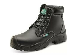 Size Uk 9 6 Eyelet PUR Safety Boot Steel Toe Cap Midsole Water Resistant