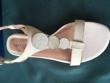 Diana Ferrari Buckle Wedge Sandals for Women