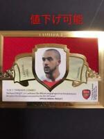 Theo Walcott Autograph Futera Soccer Card 2011-2012 Arsenal English NM 1/1
