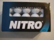 Nitro Ultimate Distance Golf Balls white 45 Balls