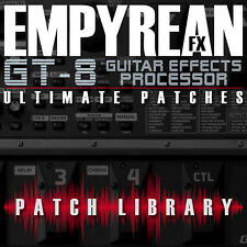 Boss GT-8 ULTIMATE Patches Guitar Effects Settings Presets FREE FAST SHIPPING