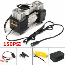Portable Car Air Compressor Double Cylinder Car Vehicle Tire Inflator 12V 150PIS