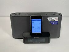 Sony Clock Radio Dream Machine Speaker iPod Dock With Apple Itouch Gen 2 8GB