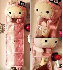 FD4301 Sentimental Circus Rabbit Rilakkuma Wall Hanging Storage Bag 3 Pockets