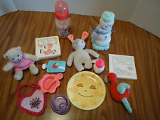 Ag Bitty Baby Lot of Books,Toys,Dishes,& other baby doll accessories
