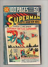 Superman #284 - 100 Page! Superboy Battles Superman - (Grade 7.5) 1975